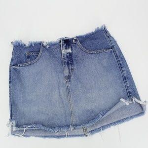 Vintage Girbaud Jean Mini Skirt